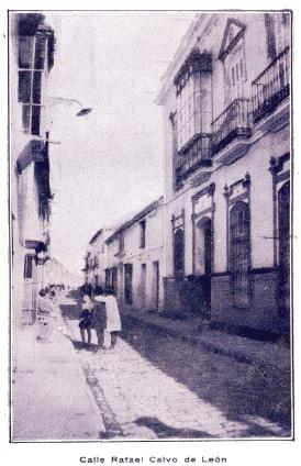 Calle Rafael Calvo de Leon